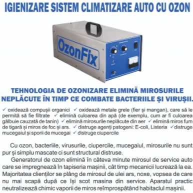 Ozonificare Auto